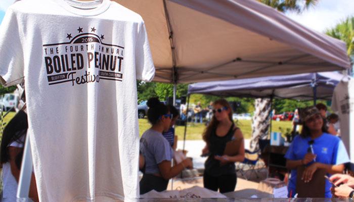 Bluffton's annual Boiled Peanut Festival