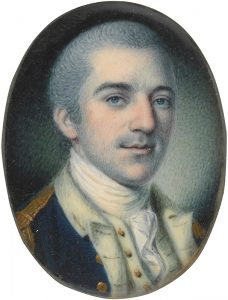 Portrait of John Laurens by Charles Willson Peale.