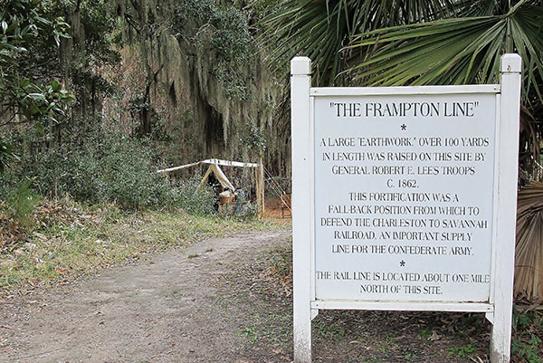 Frampton Lines Battle