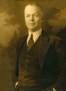 H. G. Rubert, circa 1933.