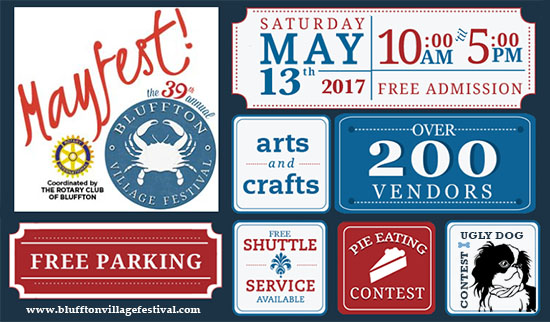 Mayfest Bluffton Village Festival 2017