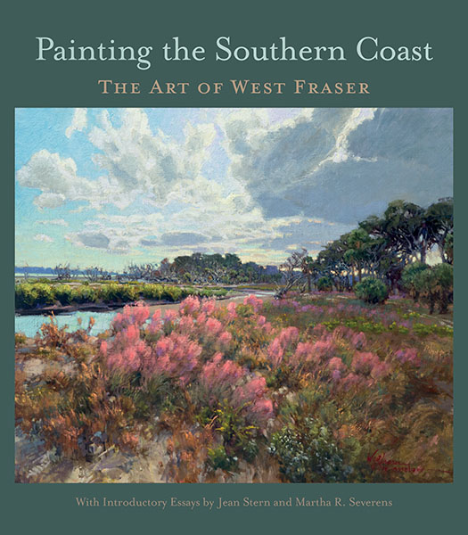 """Book Cover of """"Painting the Southern Coast"""""""