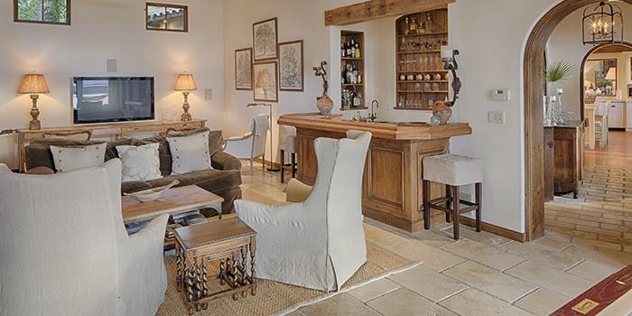 Spanish Wells Home Den