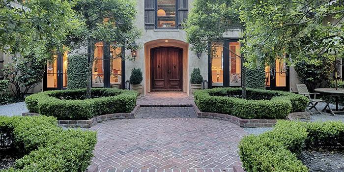 Spanish Wells Home Front Door