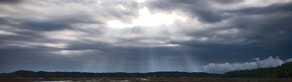 Stormy Sky by Margaret Palmer