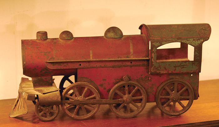 Toy train at Beaufort Shop