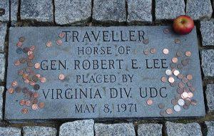 Traveller's Grave at Washington and Lee University