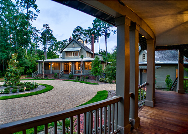 Palmetto Bluff Home Porch